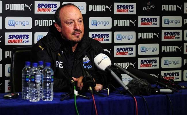 Image result for benitez newcastle press conference