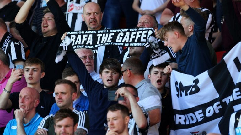 Journalist slaughtered by Newcastle fans after ridiculous criticism of Rafa Benitez team selections