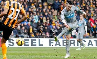 Remy Cabella Goal Hull City 2015