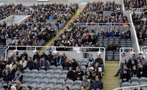 Empty Seats St. James' Park #boycottspurs