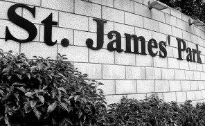 St. James' Park Signage B+W Newcastle United