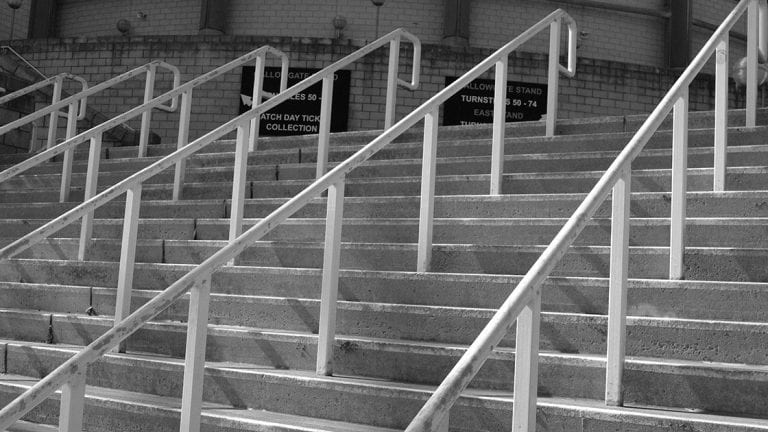 Steps Leading To St James' Park