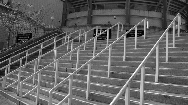 Steps Leading To St James' Park