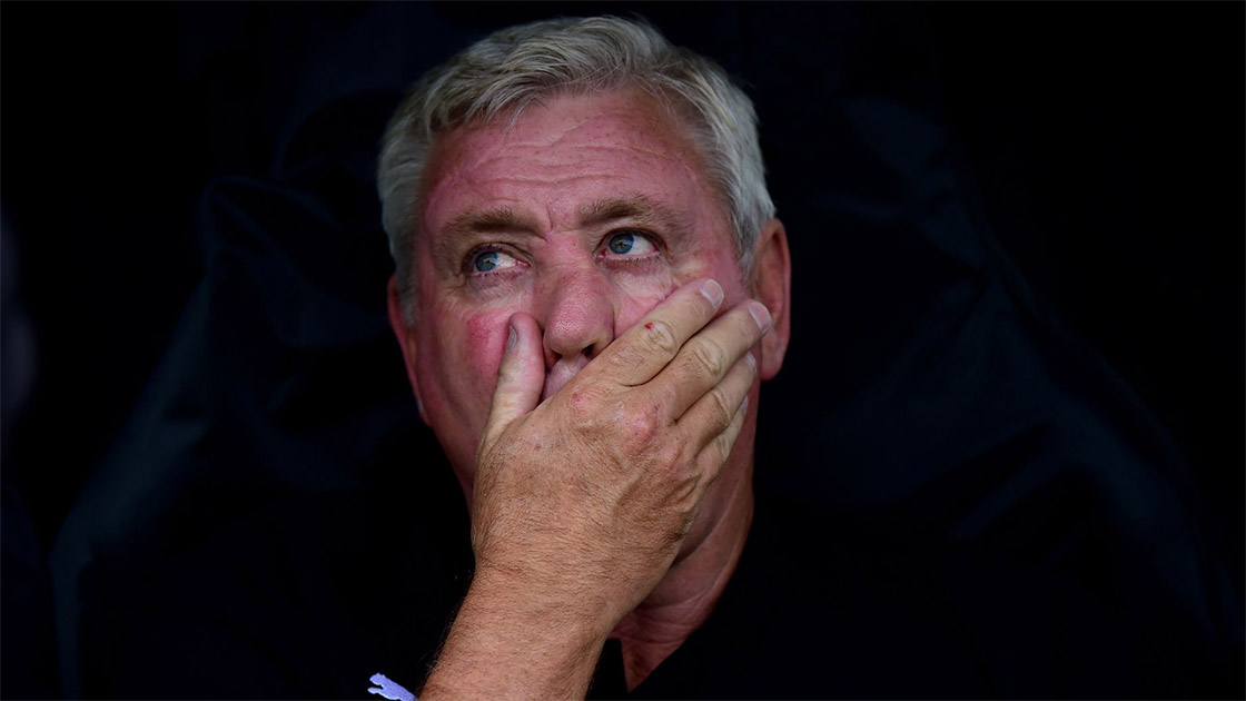 Steve Bruce reaches new levels of embarrassing with comments after defeat at Crystal Palace | NUFC The Mag