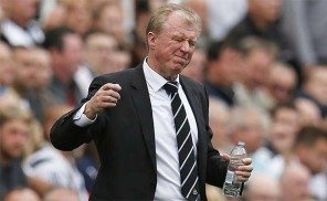 Steve McClaren Water Bottle Newcastle United