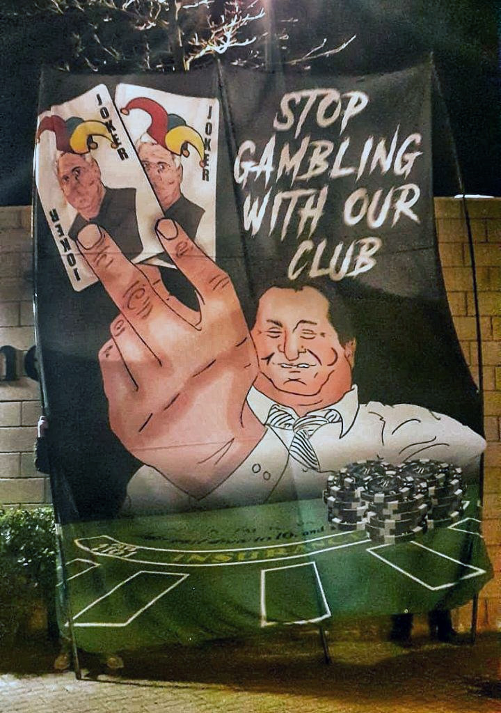 Stop Gambling With Our Club Banner
