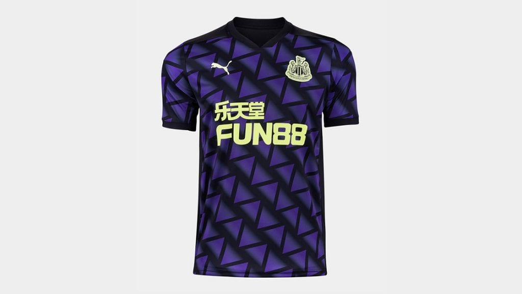 Newcastle United Third Strip 2020/21