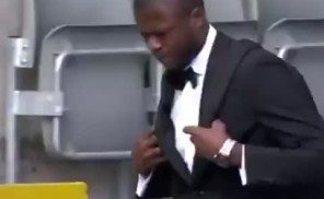 This is quality: Chancel Mbemba and Florian Thauvin arrive in style for Arsenal – Video