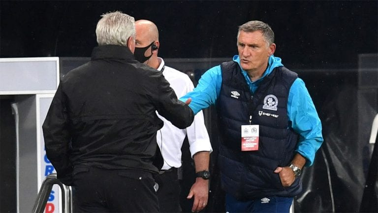 Tony Mowbray gutted after Blackburn dominated Newcastle United but just couldn't score